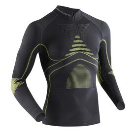 X-Bionic Accumulator Evo - T-shirt manches longues running Homme - jaune/noir